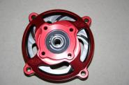 CLUTCH HOUSING CNC RED WITH AUTO COOLING CLUTCH DRUM 80mm