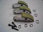 CLUTCH SHOES KIT for 3 Weights CARBONIUM (patented)